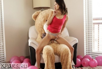 Young skinny girl fucked stepbrother dressed as Teddy Bears.