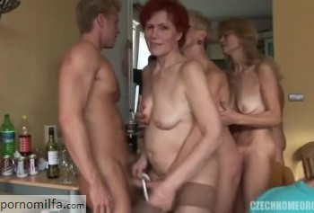 Dirty Mature milf Orgy